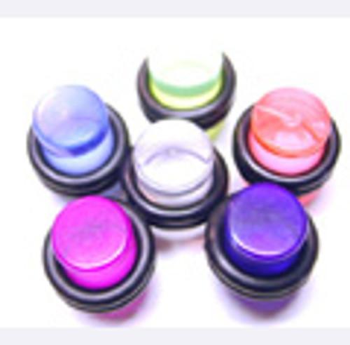 Body jewelry, UV acrylic Ear Plug