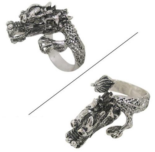 Adjustable Dragon Finger Ring