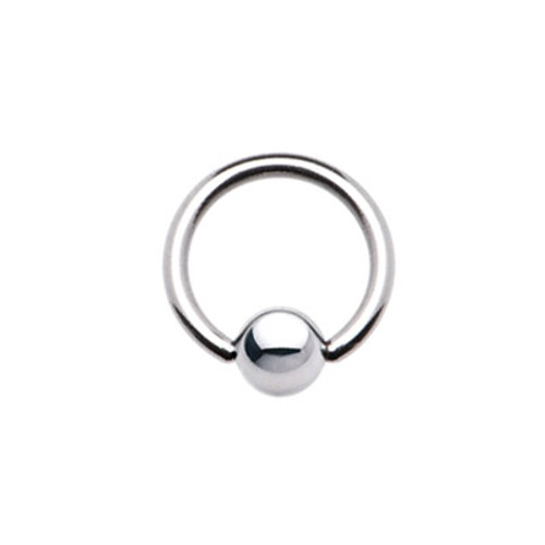 Surgical Steel Captive Bead Ring 8 Gauge