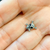 Labret lip ear ring Surgical Steel Skull Bones with Black eyes 14 Gauge