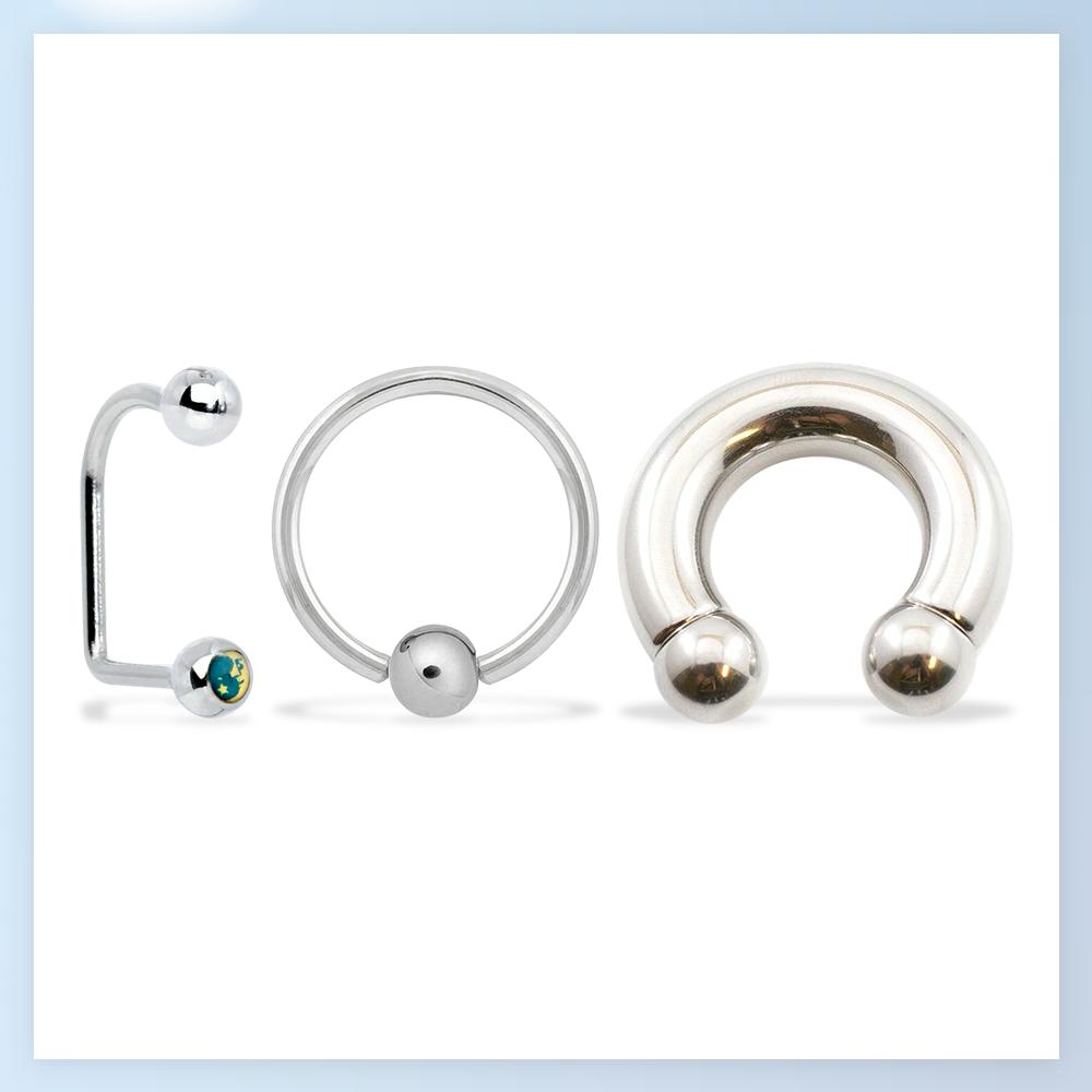 Captives / Circulars / Twister Rings
