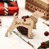 Personalised Jack Russell Decoration