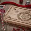 Personalised Santa Platter - The Crafty Giraffe