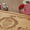 Buy Personalised Santa Platter From The Crafty Giraffe, the home of unique and affordable gifts for loved ones...