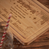 Buy Personalised Santa Platter 2 From The Crafty Giraffe, the home of unique and affordable gifts for loved ones...