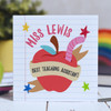Buy Personalised Best Teaching Assistant Card From The Crafty Giraffe, the home of unique and affordable gifts for loved ones...