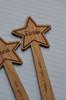 Personalised Star Wand Bookmark