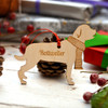 Personalised Rottweiler Decoration - Long Tail