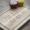 Personalised Wedding Ticket Board - The Crafty Giraffe