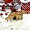 Personalised Working SheepDog Pet Decoration - The Crafty Giraffe