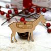 Personalised Goat Farm Animal Pet Decoration - The Crafty Giraffe