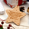 Star Decoration - Non Personalised