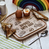 Buy Personalised Breakfast Egg Board - Vehicle From The Crafty Giraffe, the home of unique and affordable gifts for loved ones...