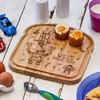 Personalised Breakfast Egg Board - Robot - The Crafty Giraffe