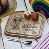Buy Personalised Breakfast Egg Board - Pirate - Girl From The Crafty Giraffe, the home of unique and affordable gifts for loved ones...