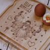 Personalised Breakfast Egg Board - Fairy
