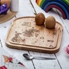 Personalised Breakfast Egg Board - Unicorn