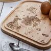 Personalised Breakfast Egg Board - Unicorn - The Crafty Giraffe