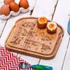 Personalised Breakfast Egg Board - Dinosaurs