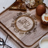 Buy Personalised Breakfast Egg Board - Road From The Crafty Giraffe, the home of unique and affordable gifts for loved ones...