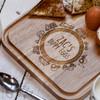 Personalised Breakfast Egg Board - Road