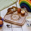Personalised Breakfast Egg Board - Road - The Crafty Giraffe