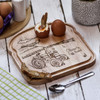 Buy Personalised Breakfast Egg Board - Tractor From The Crafty Giraffe, the home of unique and affordable gifts for loved ones...