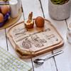 Personalised Breakfast Egg Board - Tractor - The Crafty Giraffe