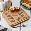 Personalised Breakfast Egg Board - Army Vehicles