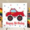 Truck Birthday Card