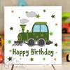 Train Birthday Card