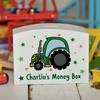 Personalised Tractor Money Box