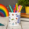 Personalised You're out of this world Pencil Pot - The Crafty Giraffe
