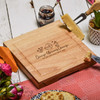 Personalised Glorious Cheese Cheeseboard with Knives - The Crafty Giraffe