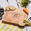 Personalised Couples Names Cheeseboard with Knives