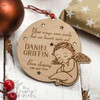 Personalised Your wings were ready Remembrance Decoration - The Crafty Giraffe
