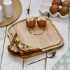 Personalised Breakfast Egg Board - Smiley Text - The Crafty Giraffe
