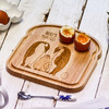Personalised Breakfast Egg Board - Penguin