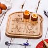 Personalised Breakfast Egg Board - Lion