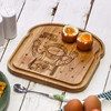 Personalised Breakfast Egg Board - Astronaut