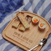 Personalised Breakfast Egg Board - Eggcellent Valentine's Day
