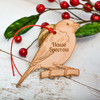 Personalised House Sparrow Decoration