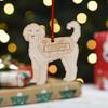 Personalised Cockapoo Dog Decoration - Detailed