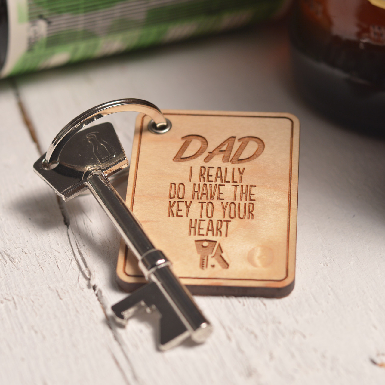 7763609e546d7 Personalised Key to your Heart Keyring and Bottle Opener