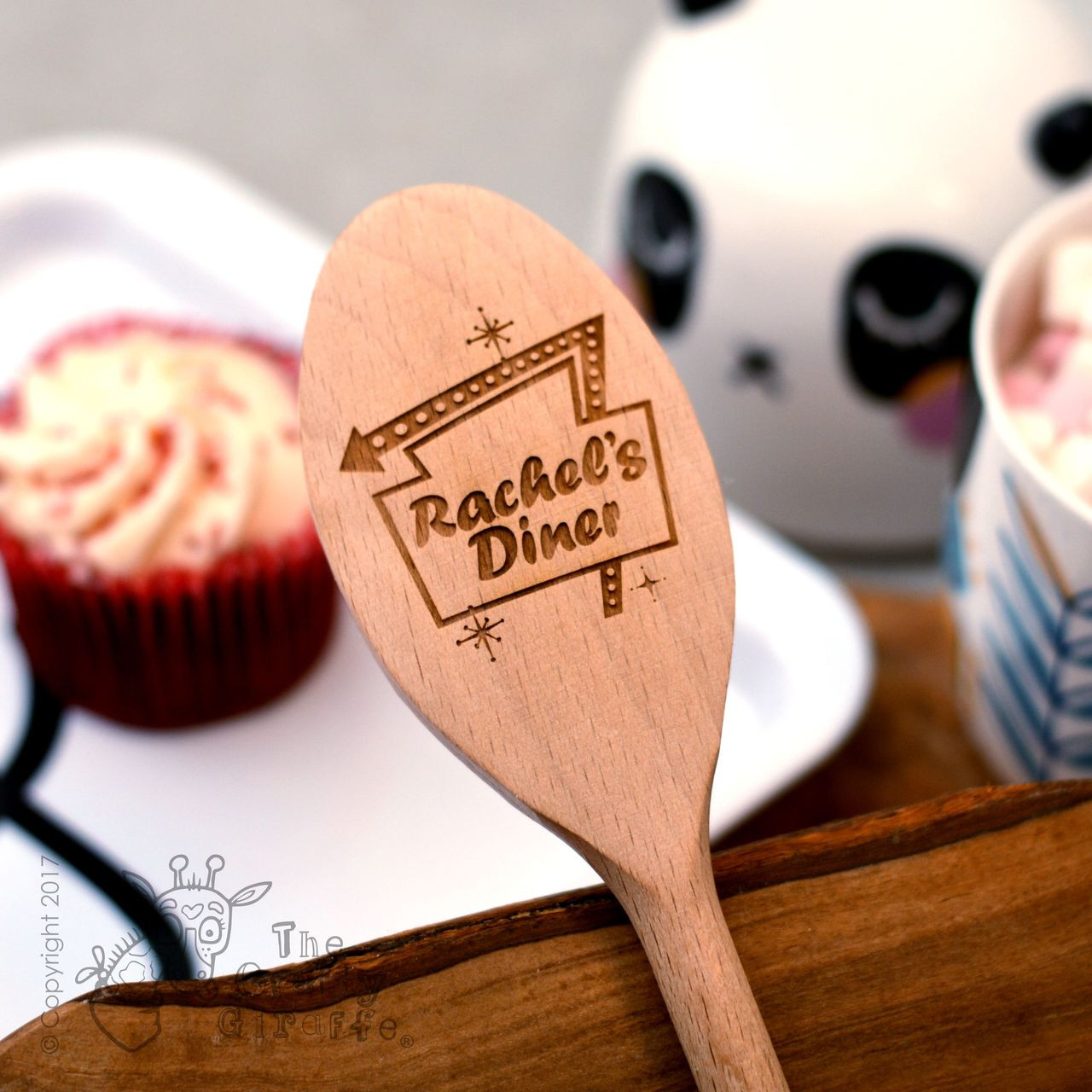 Personalised Diner Sign Spoon