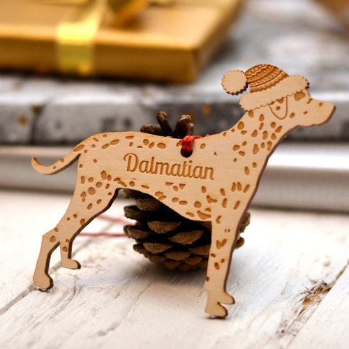 Personalised Dalmatian Dog Pet Decoration - The Crafty Giraffe