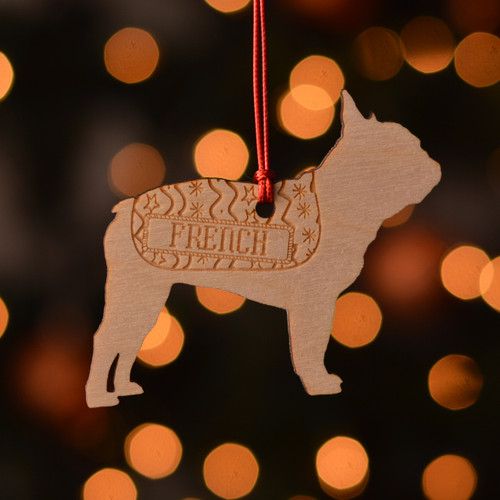 Personalised French BullDog Pet Decoration - The Crafty Giraffe