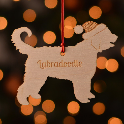 Personalised Labradoodle Dog Pet Decoration - The Crafty Giraffe