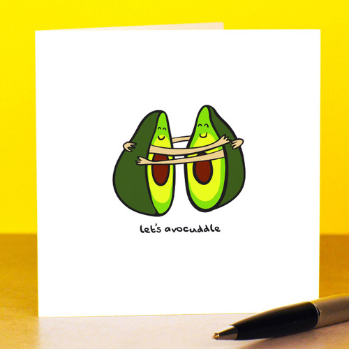 Buy Let's avocuddle Card From The Crafty Giraffe, the home of unique and affordable gifts for loved ones...