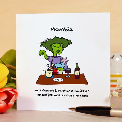Mombie Card - The Crafty Giraffe